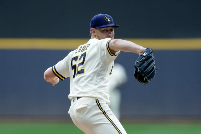 After a bout with COVID-19, Eric Lauer is back with the Milwaukee Brewers.