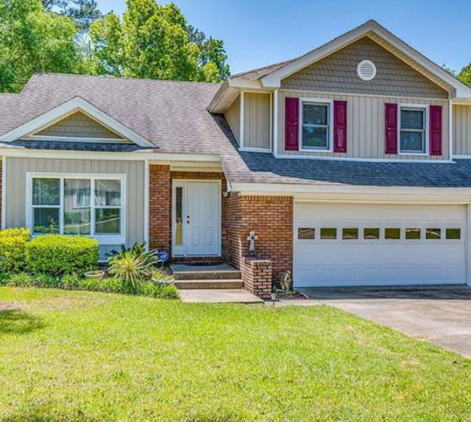 The Silver Hills home at 484 Greystone Way just behind the post office in Prattville is for sale for $289,900 and includes three bedrooms and three bathrooms within 2,538 square feet of living space.