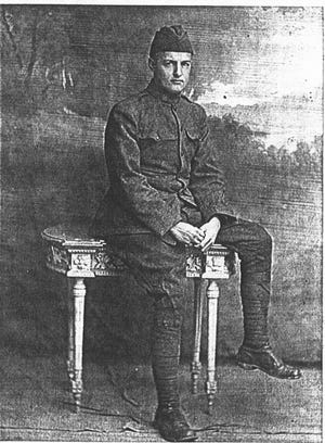 Private Philip Horton, of Newark, served in World War I in France.
