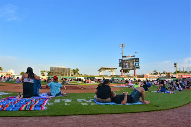 With its open space, Blue Wahoos Stadium has made family movie and fireworks nights a staple event during past two years.