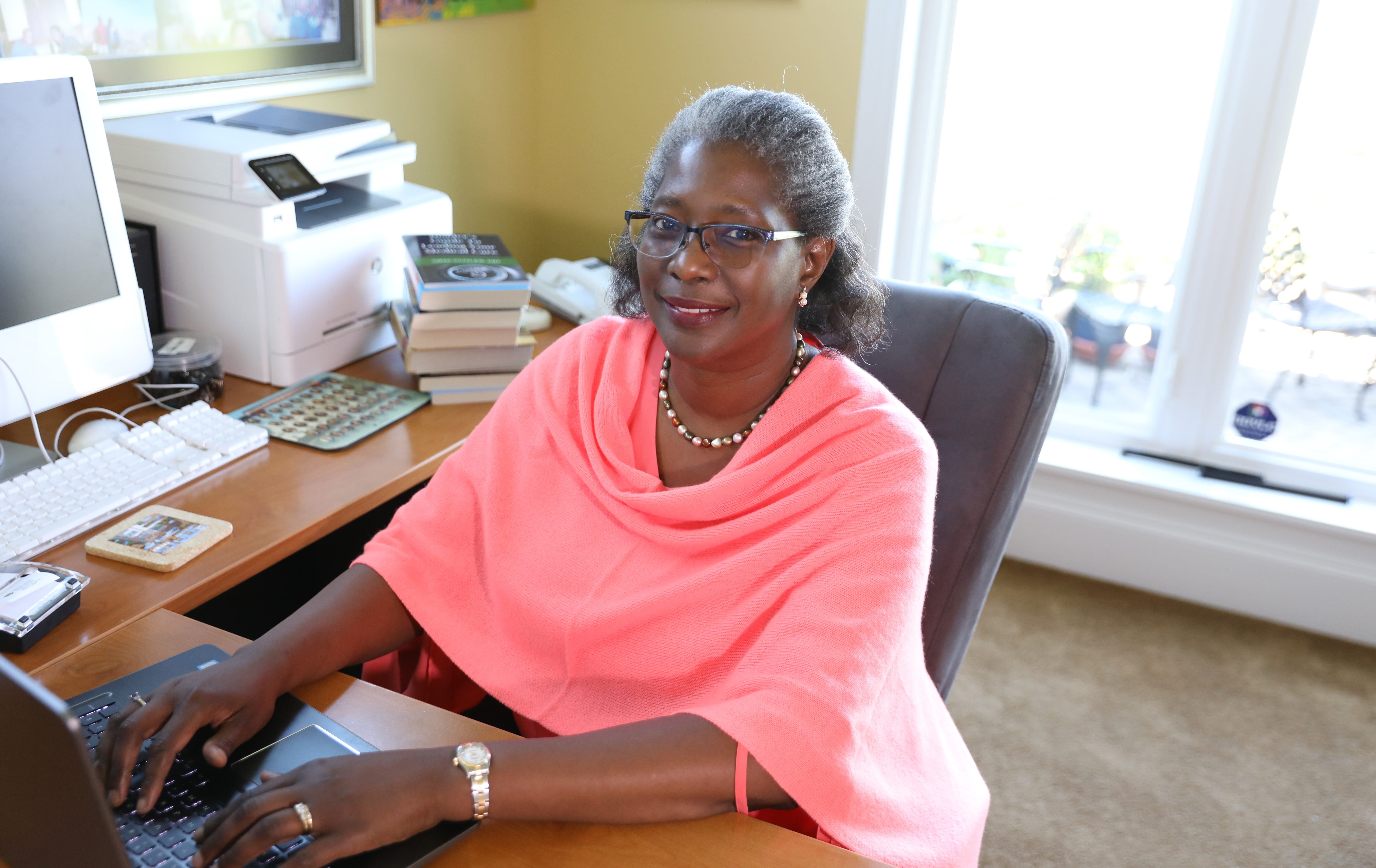 Dr. Gina Cuyler says she was motivated to create a network of people who understood  the challenges of being a Black physician and supported aspiring medical students— something she longed for when she was a student.