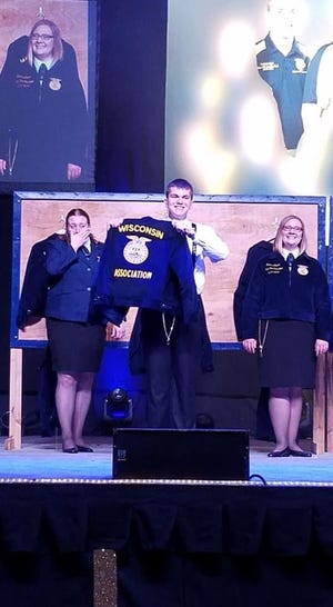 Ben Styer is ready to roll up his sleeves as president of the State FFA Officer team.