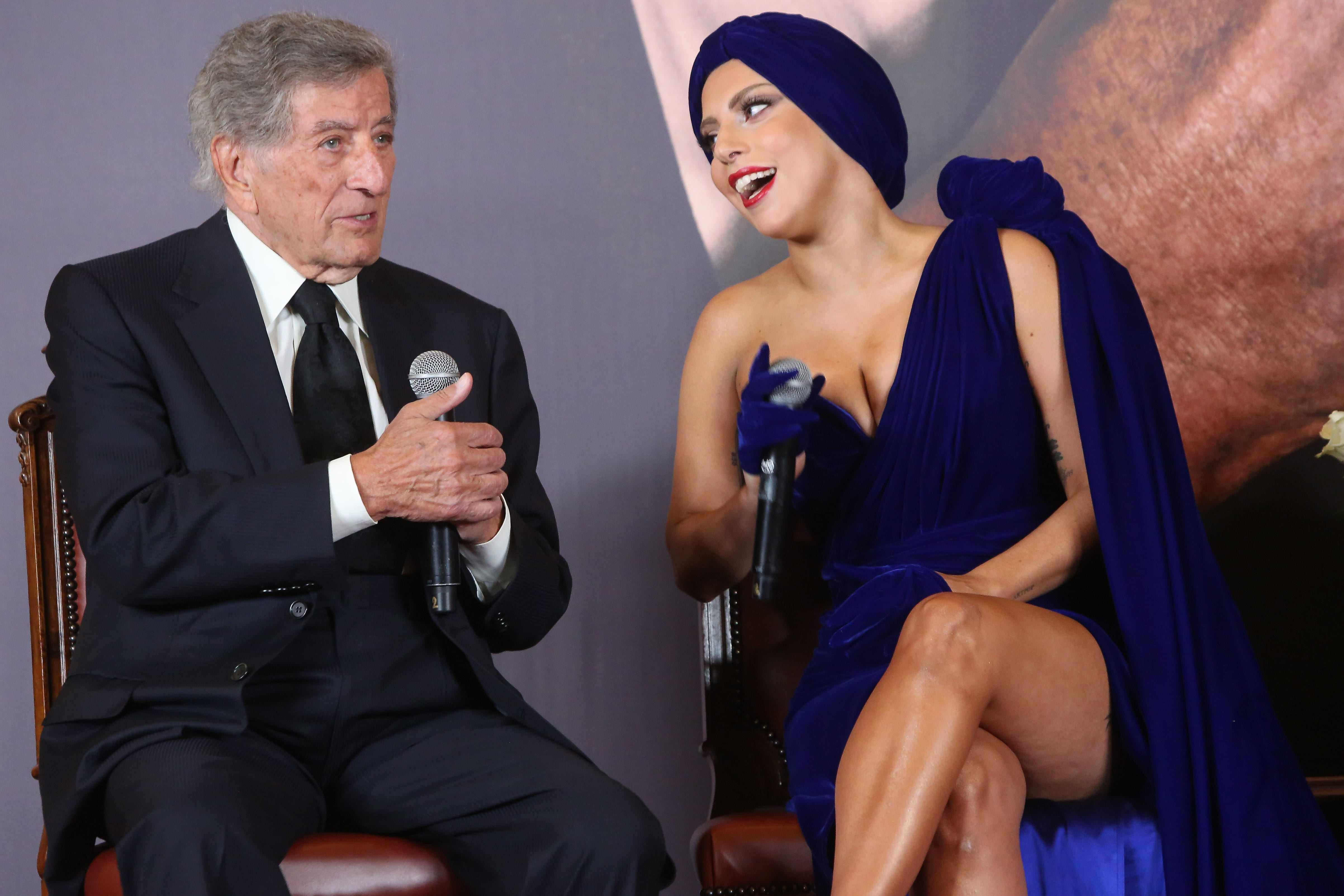 'He's my musical companion': Lady Gaga salutes, duets with Tony Bennett at emotional New York show