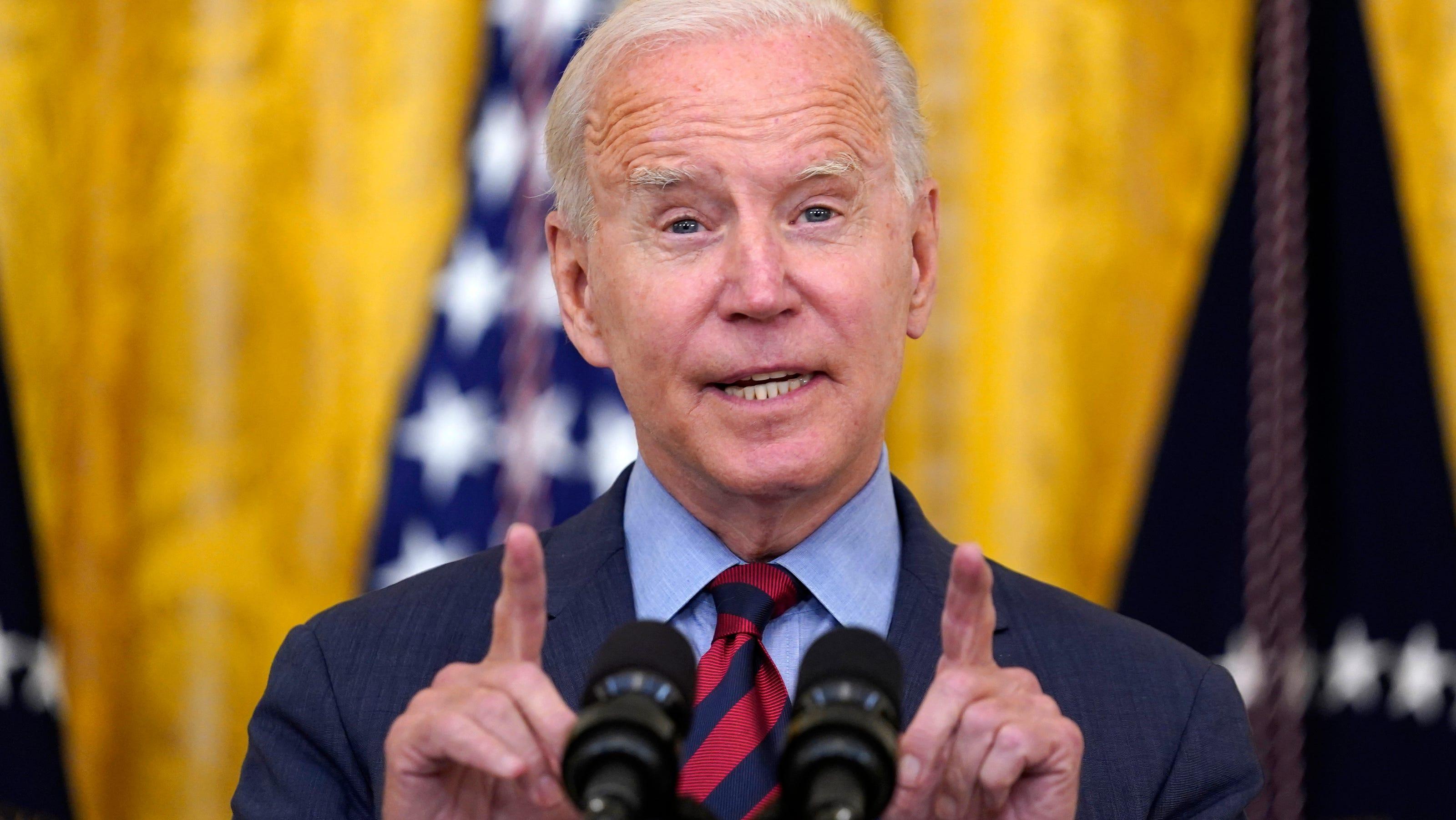 President Biden criticizes Greg Abbott, Ron DeSantis over COVID-19
