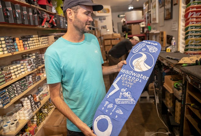 No-Comply Skate Shop owner Elias Bingham moved his business to its current home on 12th Street in 2008. After a public outcry over plans by the shop's landlord, Austin Community College, to demolish the building, both parties say they have reached an agreement to keep No-Comply in its home for now.