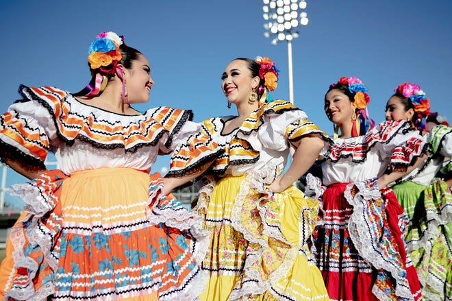 Ballet Folklorico de Austin is among the arts groups that will perform during the Waterloo Park opening festivities.