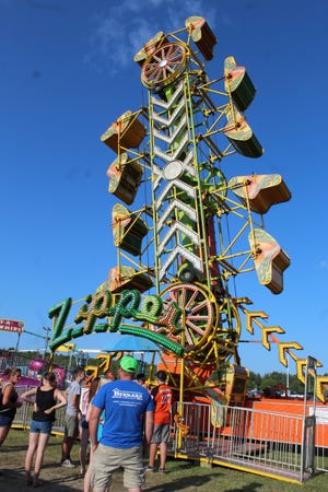 The Cheboygan County Fair begins this Saturday, with the carnival starting next Tuesday.