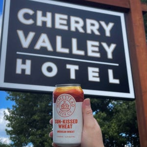 Homestead Beer has a taproom planned for the Cherry Valley Hotel