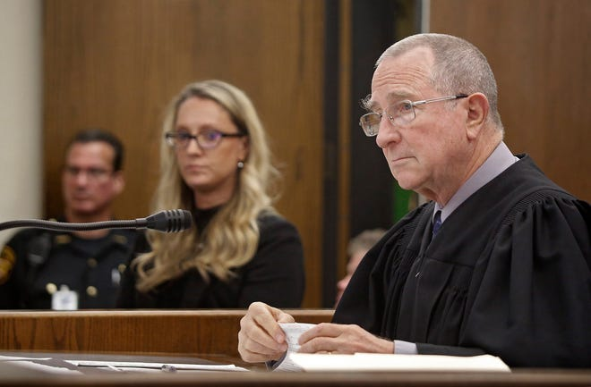 Franklin County Municipal Judge Ted Barrows, shown here in a 2017 court case, announced Thursday that based on a recent appeals-court decision, the court is not bound by the latest Centers for Disease Control and Prevention eviction moratorium, and that evictions would proceed as usual.