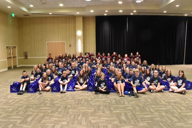 Youth attend NDSU Extension's Extension Youth Conference in Fargo.