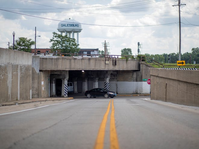 The Galesburg Civic Art Center, with support from the city of Galesburg and BNSF, has applied for a $25,000 grant fromthe Asphalt Art Initiative that would help fundmuralson west side wallsoutside of the South Street underpass.