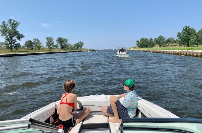 Boating is a great way to spend family time outdoors.