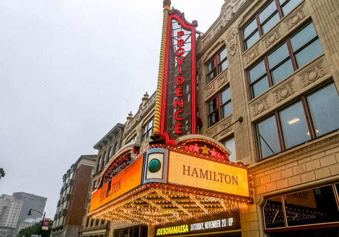 """""""Hamilton"""" tickets are on sale for the upcoming performance at the Providence Performing Arts Center."""