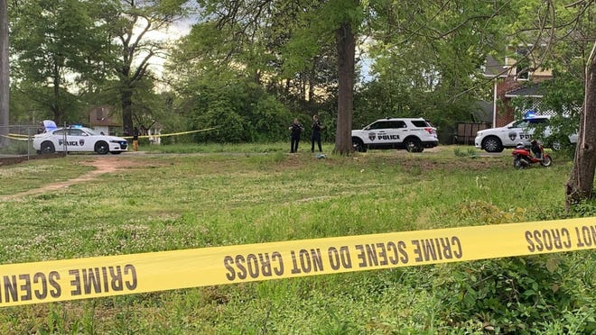 The scene of a 2020 shooting in Shelby is seen here in this Star file photo.