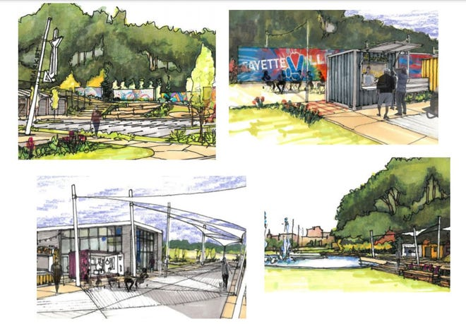 These images shared with the City Council show what Fayetteville's makerspace could look like.
