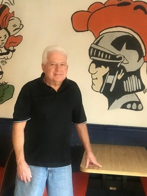 Terry Veselenak is the owner of Terry's Pizza in Newcomerstown.