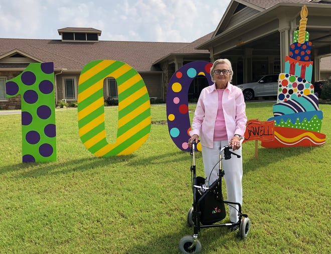Janell Jones celebrated her 100th birthday on Aug. 4.
