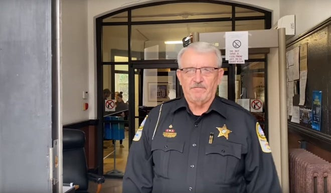 Jim Cruzan served two terms as sheriff in Jackson County. He announced the week of Aug. 2 he plans to run for Madison County Sheriff in 2022.