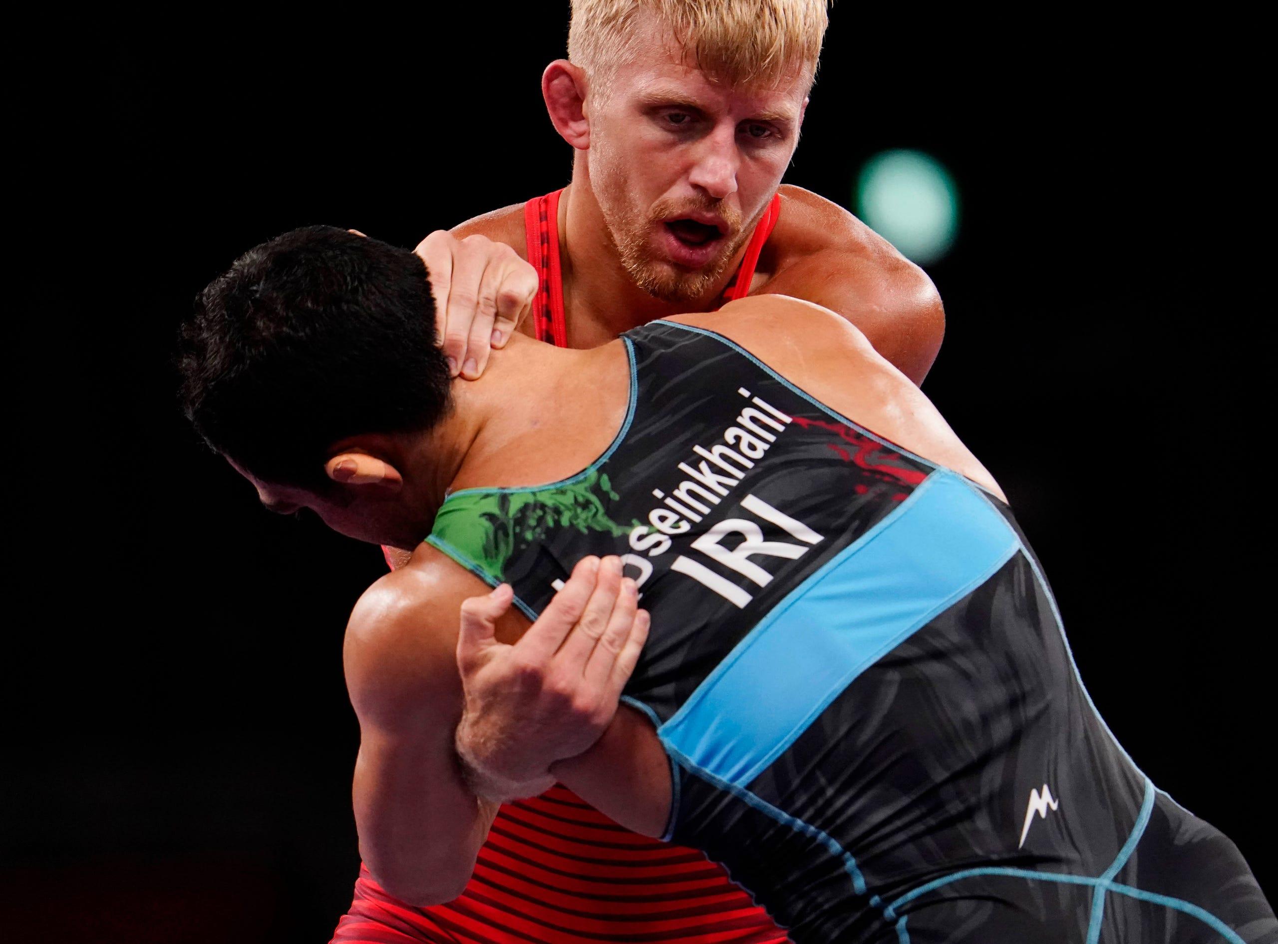 Photo gallery: Kyle Dake competes at Tokyo Olympics
