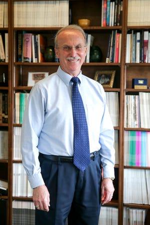 Dr. Ken Ferraro stands for a photo in Purdue University's Hanley Hall, Thursday, Aug. 5, 2021, in West Lafayette. Ferraro was awarded the 2021 Gerontological Society of America's Robert W. Kleemeier Award.