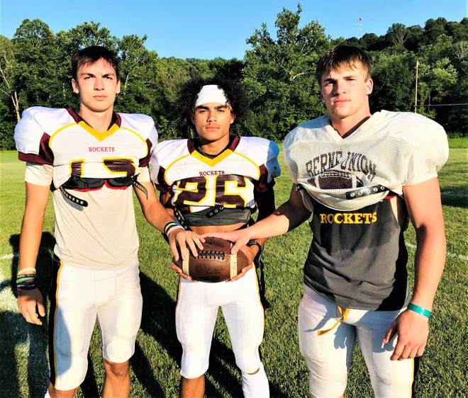 Berne Union had a history-making season a year ago when they won the Mid-State League-Cardinal Division championship and won two playoff games for the first time in school history. With the return of wide reciever Sammy Amnah, running back Brae Friesner and quarterback Nate Nemeth, the Rockets could be in store for another record-breaking season.