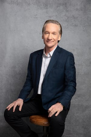Comedian Bill Maher plays the Riverside Theater, Aug. 14.