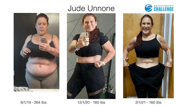 Jude Unnone's fitness transformation