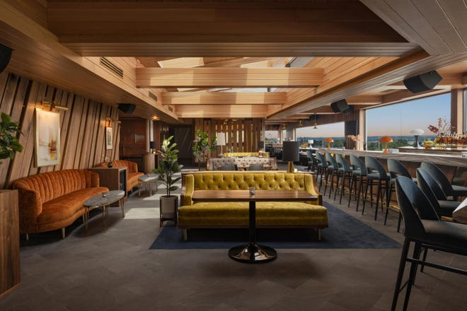 Concourse Club evokes the mid-century look of Mad Men