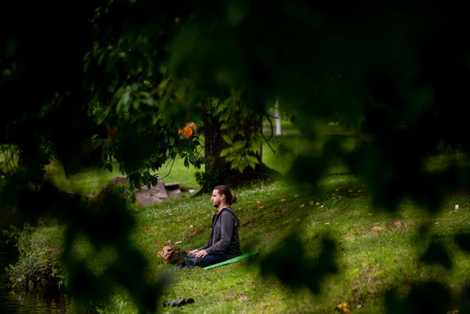You can meditate pretty much anywhere. Go ahead and give it a try.