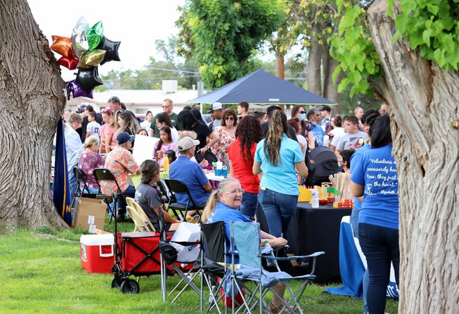 Events in Deming have drawn mass gatherings outdoors.