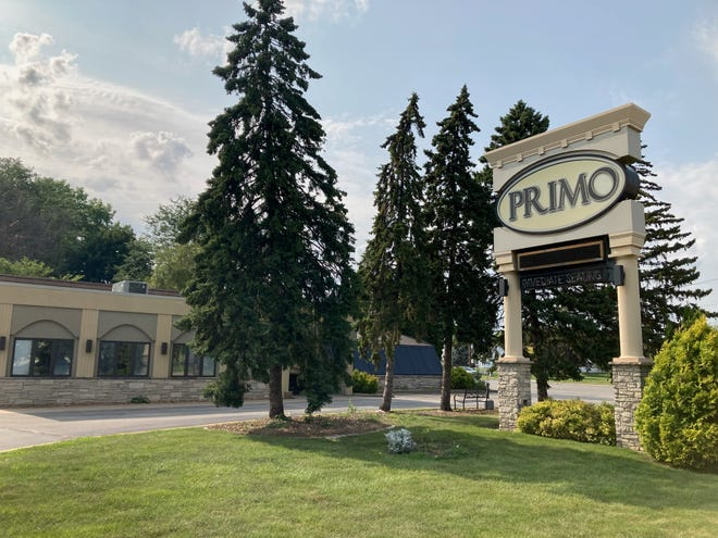 Primo Restaurant is shown on Thursday at 2605 Jackson St. in Oshkosh. The Italian restaurant announced on Tuesday via Facebook that it had permanently closed its location after 14 years due to a staffing shortage.