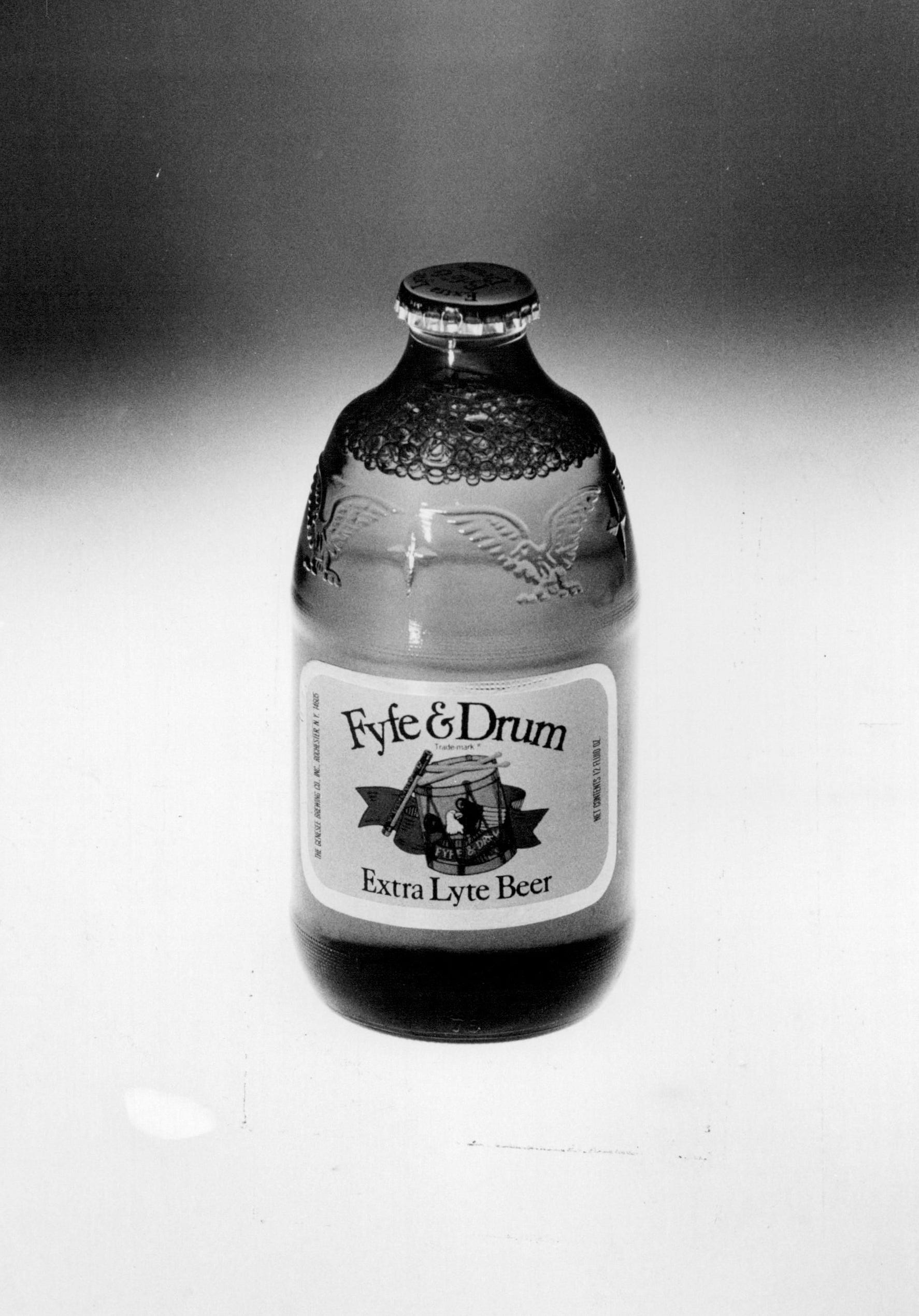 """Genesee introduced Fyfe & Drum, an """"extra lyte beer,"""" in 1965 and discontinued it for the first time in 1980."""