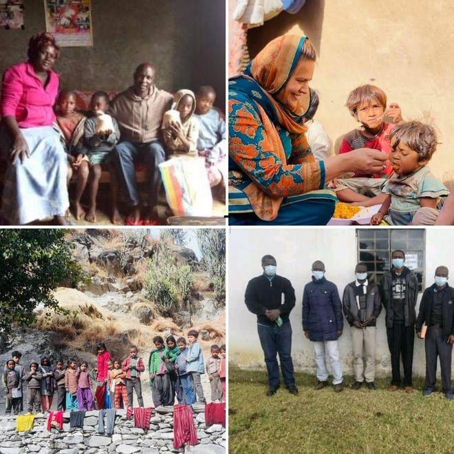 TPIC Outreaches in Kenya, Pakistan, Nepal, and Eswatini.