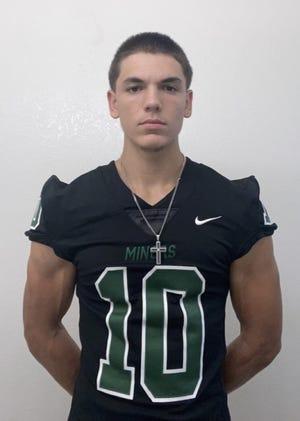 Nick Nelson is a senior on the El Diamante High School football team.