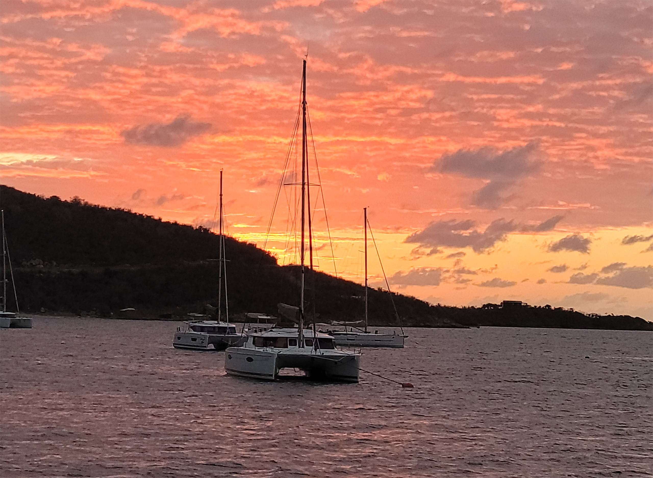 The S21 managed to get some great sunset shots on Leverick Bay.