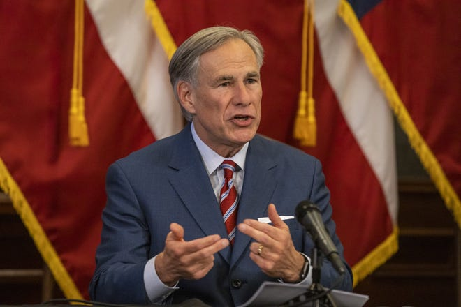 Texas Gov. Greg Abbott: He's resisted mask mandates but touted experimental therapies to treat COVID-19.