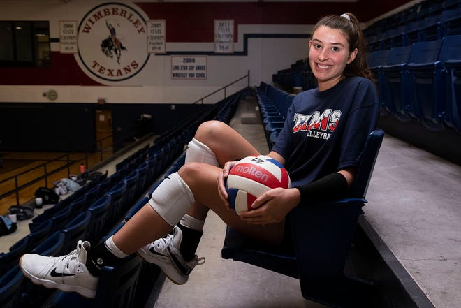 Wimberley's Paige Crawford enters her senior year as one of the top volleyball players in the Austin area. Crawford, a Wake Forest pledge, and the Texans will start the volleyball season this week as the No. 1 team in the American-Statesman's area poll.