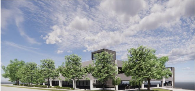 The developer on the Backyard project has been presenting the Bee Cave Planning and Zoning Commission and the City Council with architectural plans for pre-approval, including recently for the two parking garages on site.