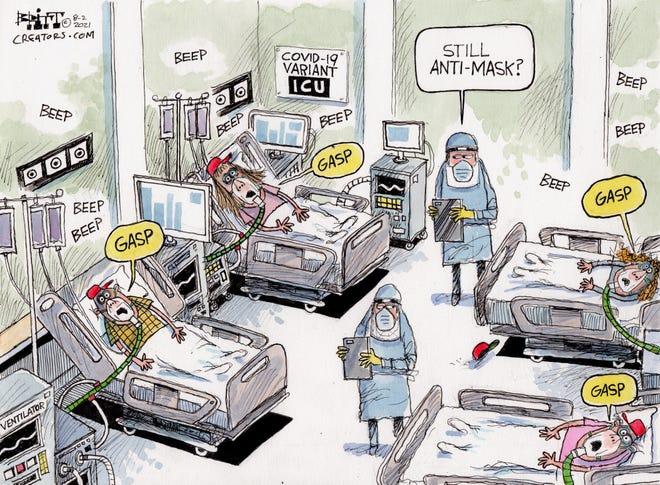 Cartoon by Chris Britt