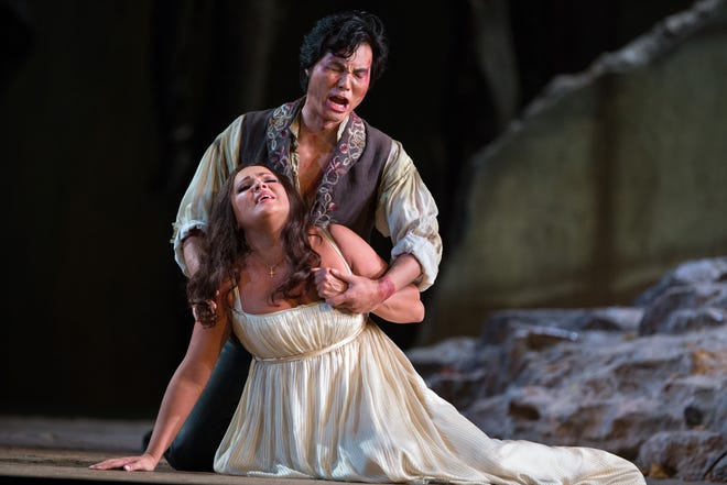 """Verdi's iconic tragedy """"Il Trovatore"""" to air on Saturday, August 14th, meal at 11am, show at noon."""