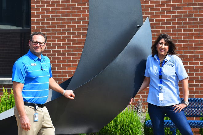Southern Tech Superintendent Dr. Eric Ward and Assistant Superintendent Dr. Stephanie Bills. Ward served as deputy superintendent for two years and Bills has over 20 years of experience with Metro Tech in Oklahoma City.