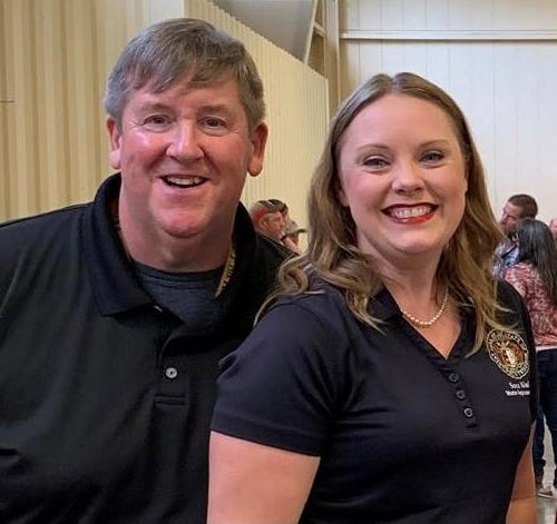 State Rep. Sara Walsh, R-Ashland, and her husband, Steve, contracted COVID-19. Steve has died after battling the virus, Sara Walsh shared on social media Thursday morning.