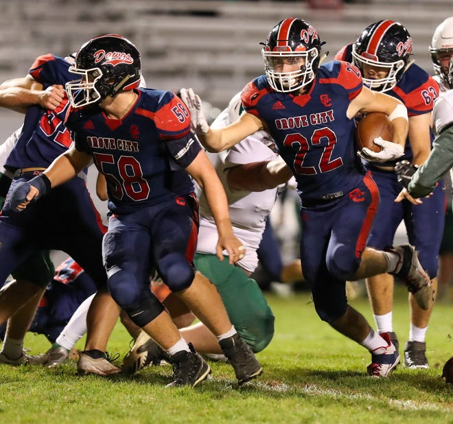 Junior Trevor Mills returns to lead Grove City after rushing for 709 yards and seven touchdowns last season.