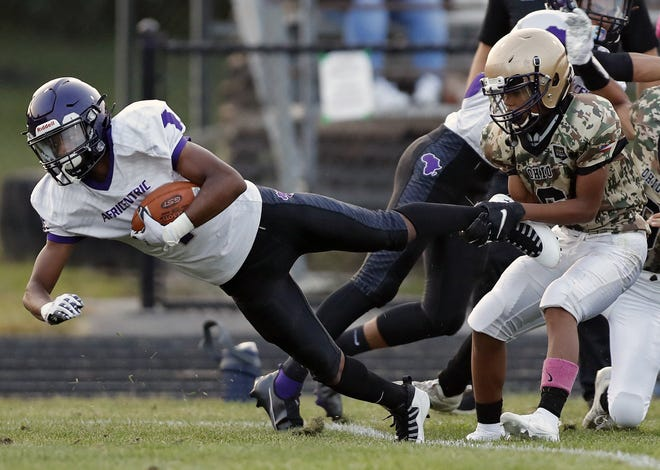 Senior Dan Wagner, a receiver, defensive back and kick returner, is one of the top returnees for Africentic. The Nubians earned their first two postseason victories last fall.