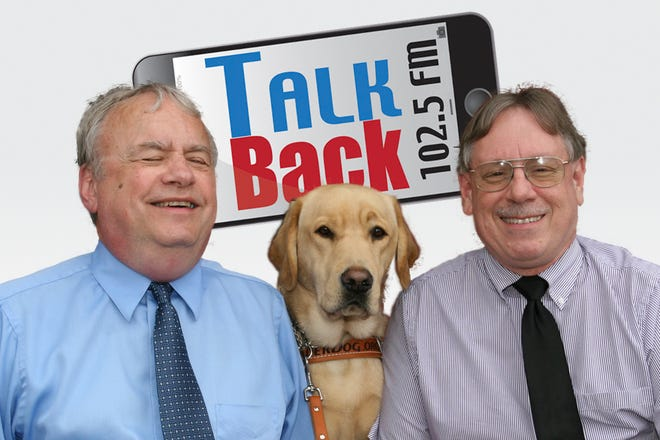 """""""Talk Back"""" on 102.5 FM with Doug Spade, Mike Clement and Major"""