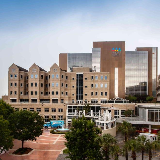 Wolfson Children's Hospital in Jacksonville.