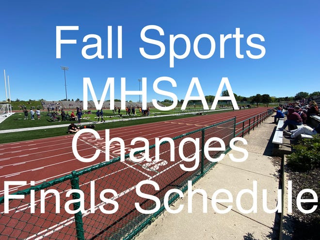 Sports changes coming to all fall sports discussed in official MHSAA press release.