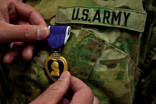 Aug. 7 is Purple Heart Day.