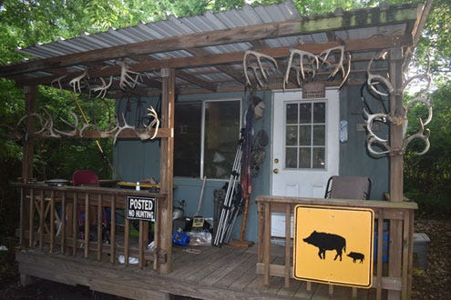 It's August and time to make ready for fall hunting seasons. Maybe the old hunting cabin needs a few repairs?