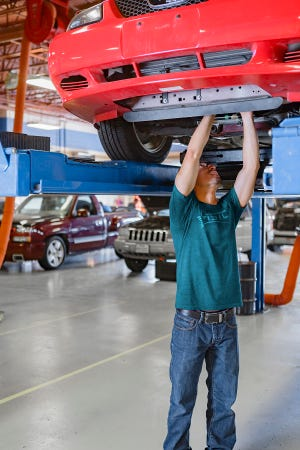Texas State Technical College helps automotive shops around the state fill the need for service technicians. TSTC offers Automotive Technology at several campuses.